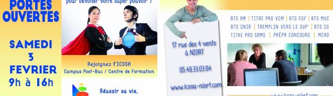 Bandeau Facebook ICSSA JPO 2018